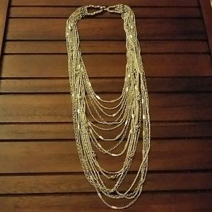 Chloe + Isabel Jewelry - Chloe and isabel 16 strand art deco necklace